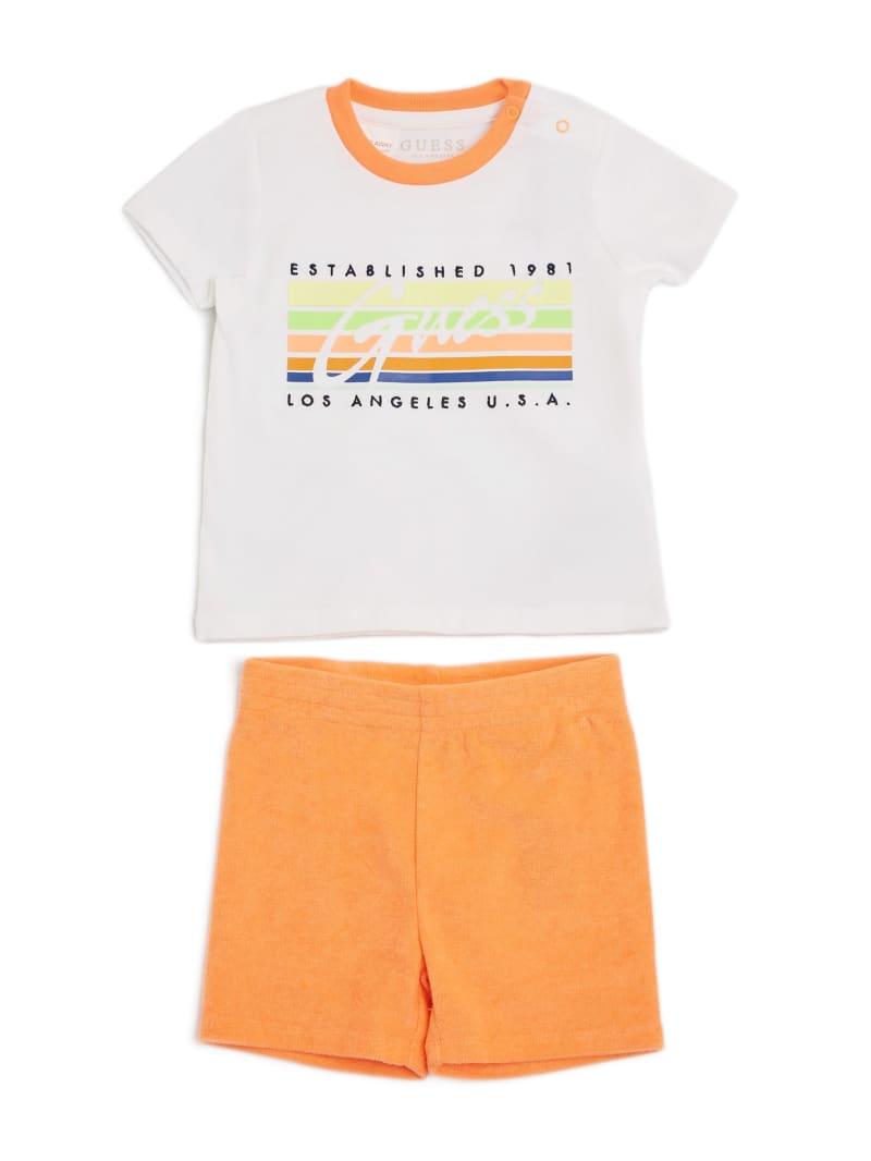 Logo Tee and Shorts Set (0-24M)
