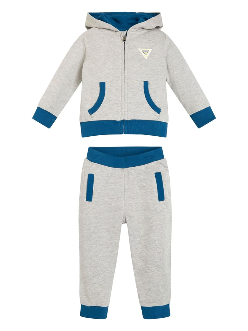 Logo Zip-Up Hoodie and Joggers Set (0-24M)