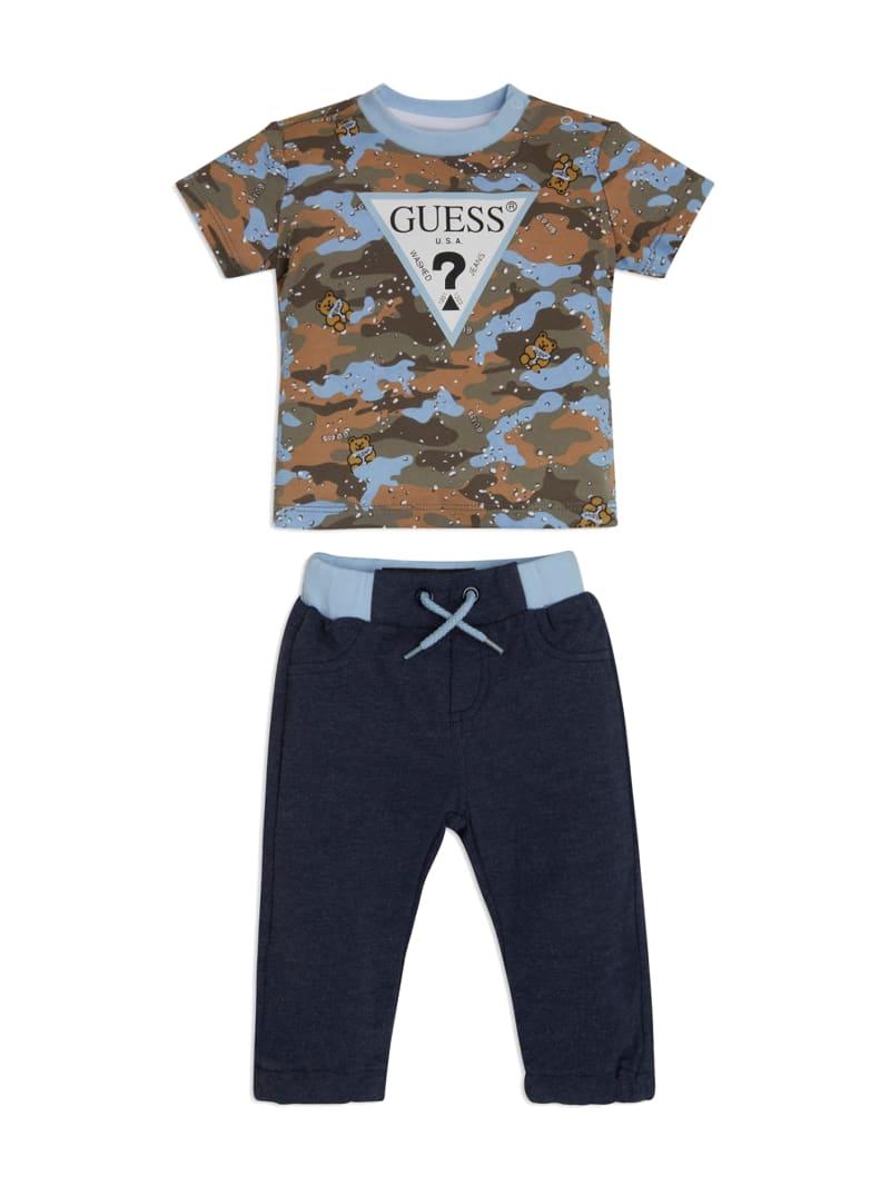 Camo Tee and Pants Set (3-12M)
