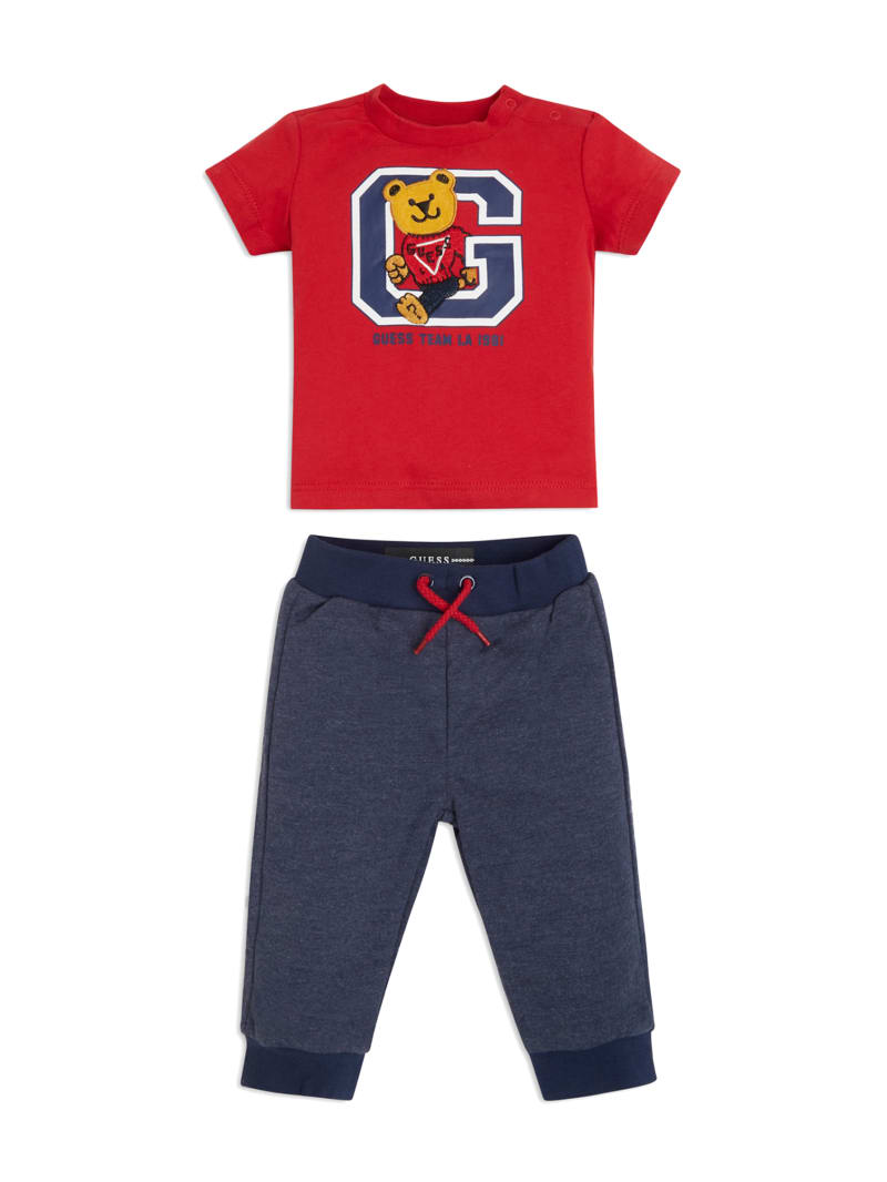 Varsity Bear Top and Pants Set (3-12M)