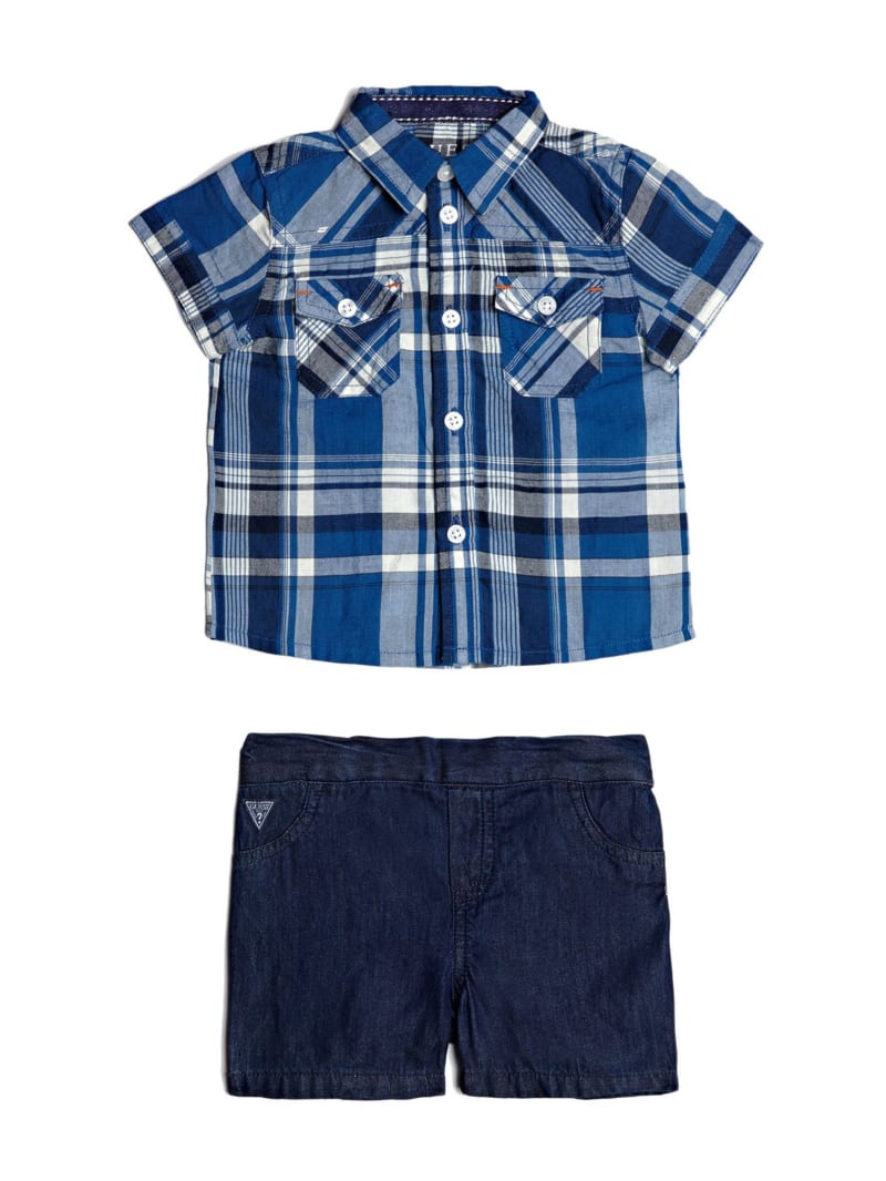 Short-Sleeve Shirt and Shorts Set (0-24m)