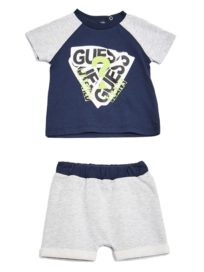 Raglan Tee and Shorts Set (0-24M)