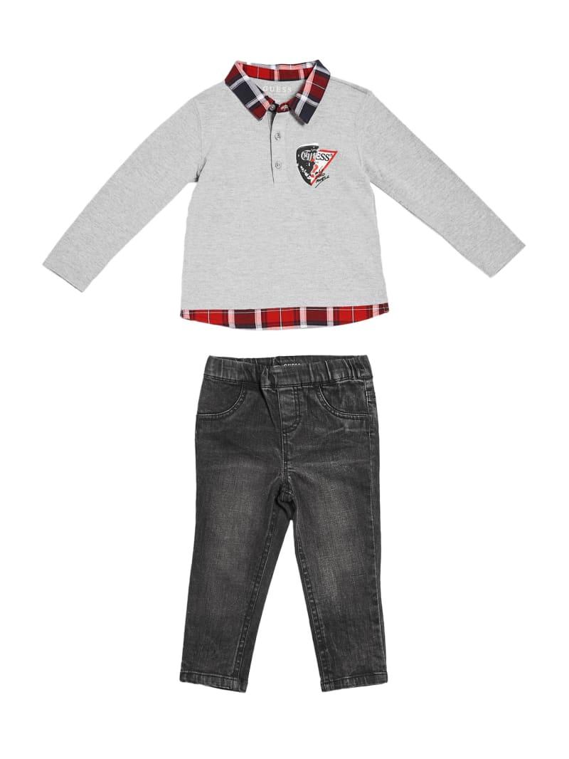 Scholar Shirt And Pants Set (0-24M)