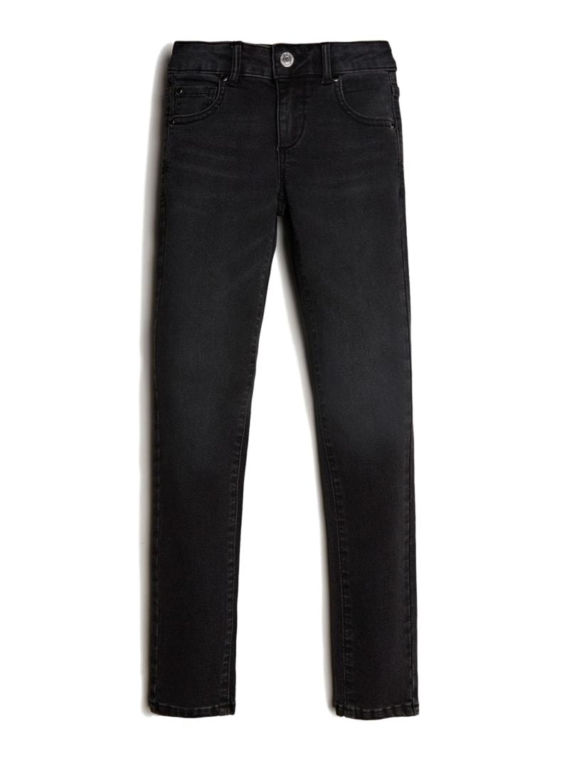 Rhinestone Black Skinny Jeans (7-14)