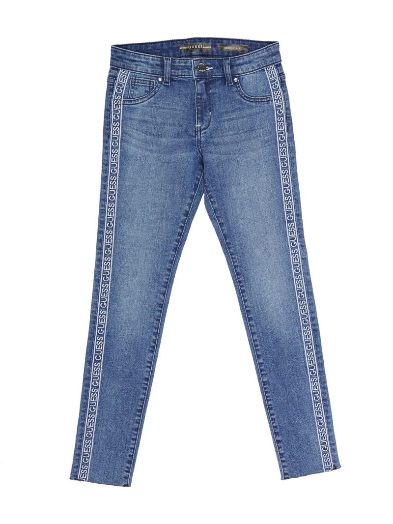 Logo-Tape Skinny Jeans (7-14)