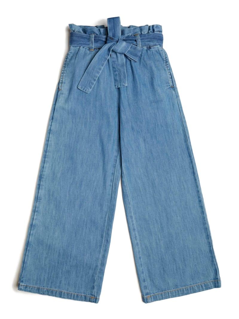 Wide Leg Paperbag Jeans (7-14)