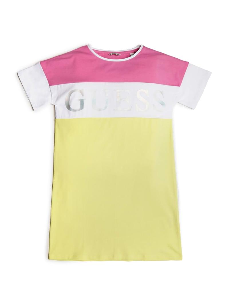 Color-Block Logo T-Shirt Dress (7-14)