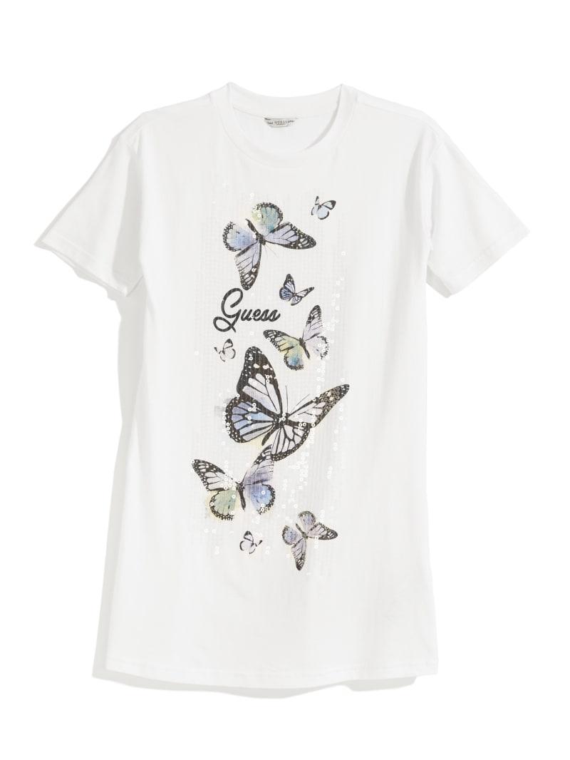 Butterfly Logo T-Shirt Dress (7-14)