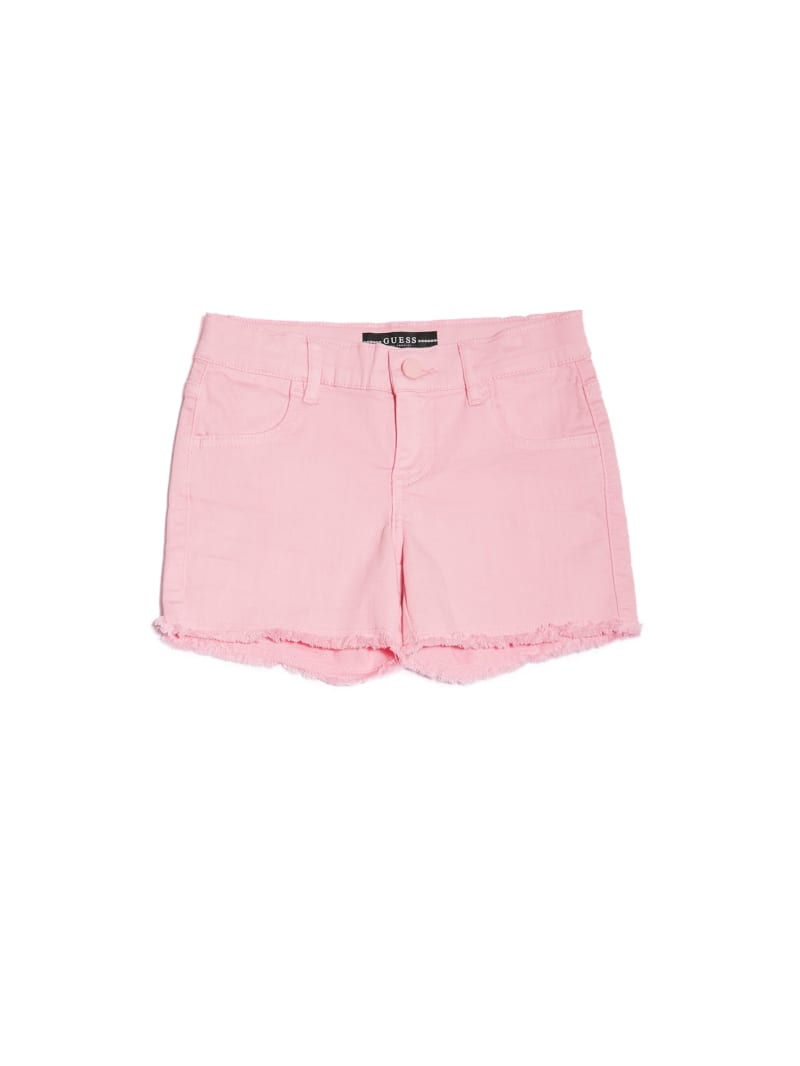 Frayed Denim Shorts (7-14)