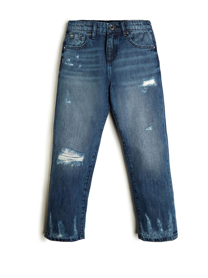 Relaxed Fit Destroyed Jeans (7-14)