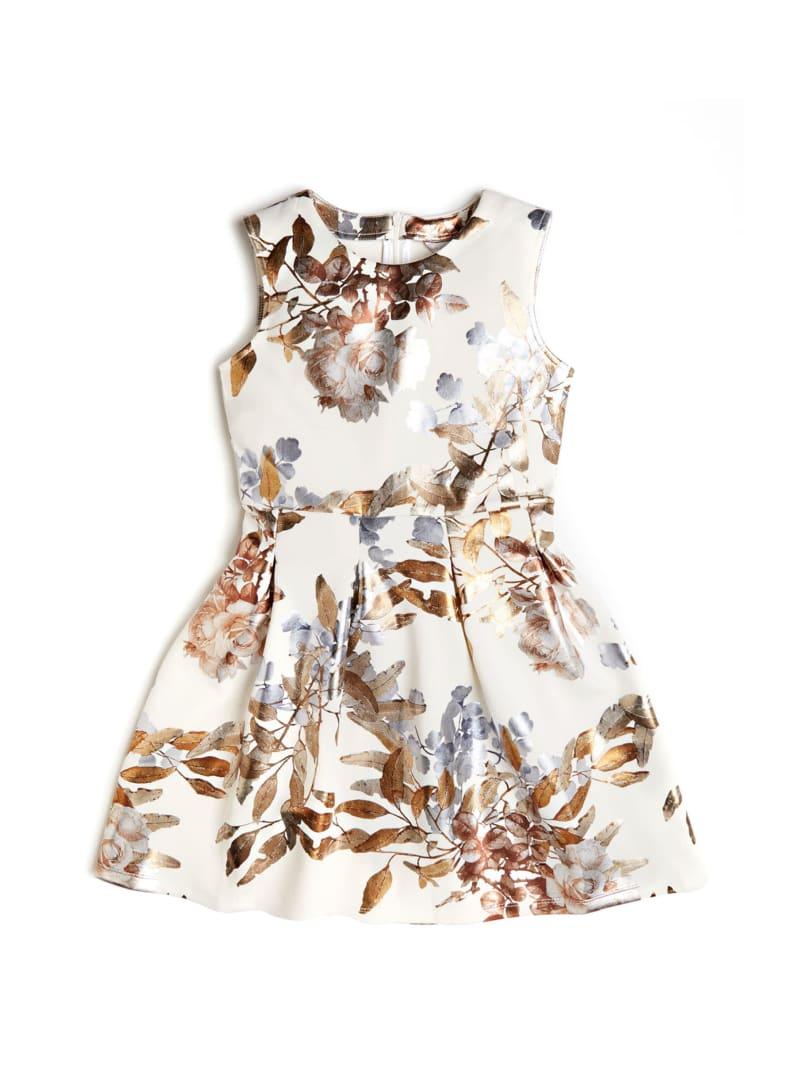 Floral Scuba Dress (7-12)