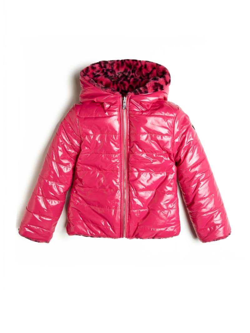 Reversible Animal Print Faux-Fur Jacket (7-14)