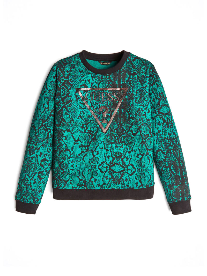 Classic Logo Printed Active Top (7-14)