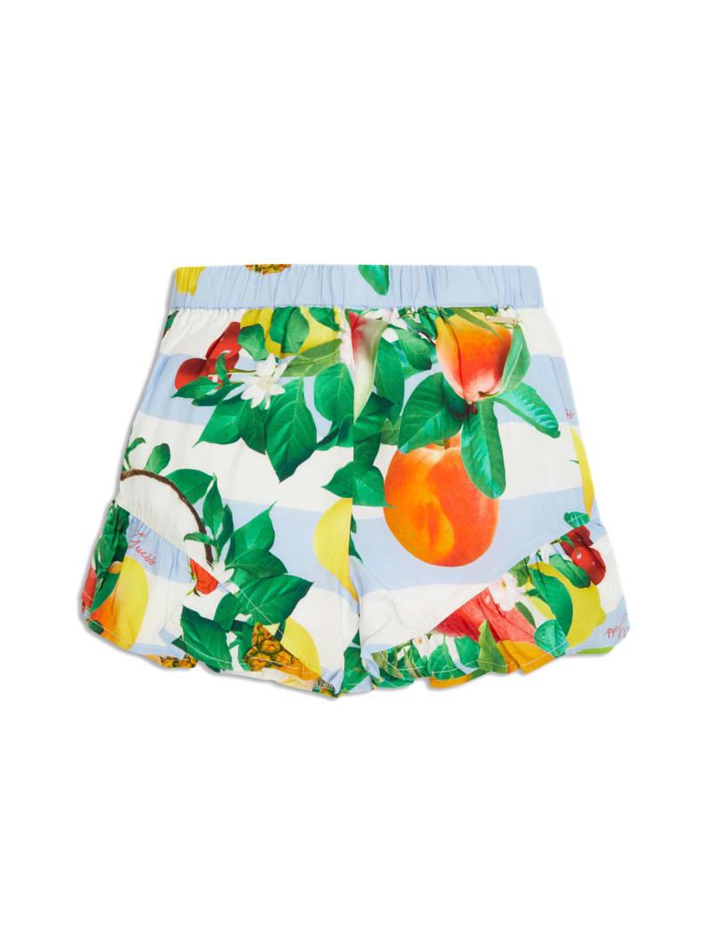 Floral Ruffled Shorts (7-14)