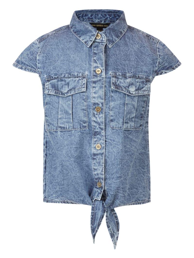 Knotted Denim Shirt (7-14)