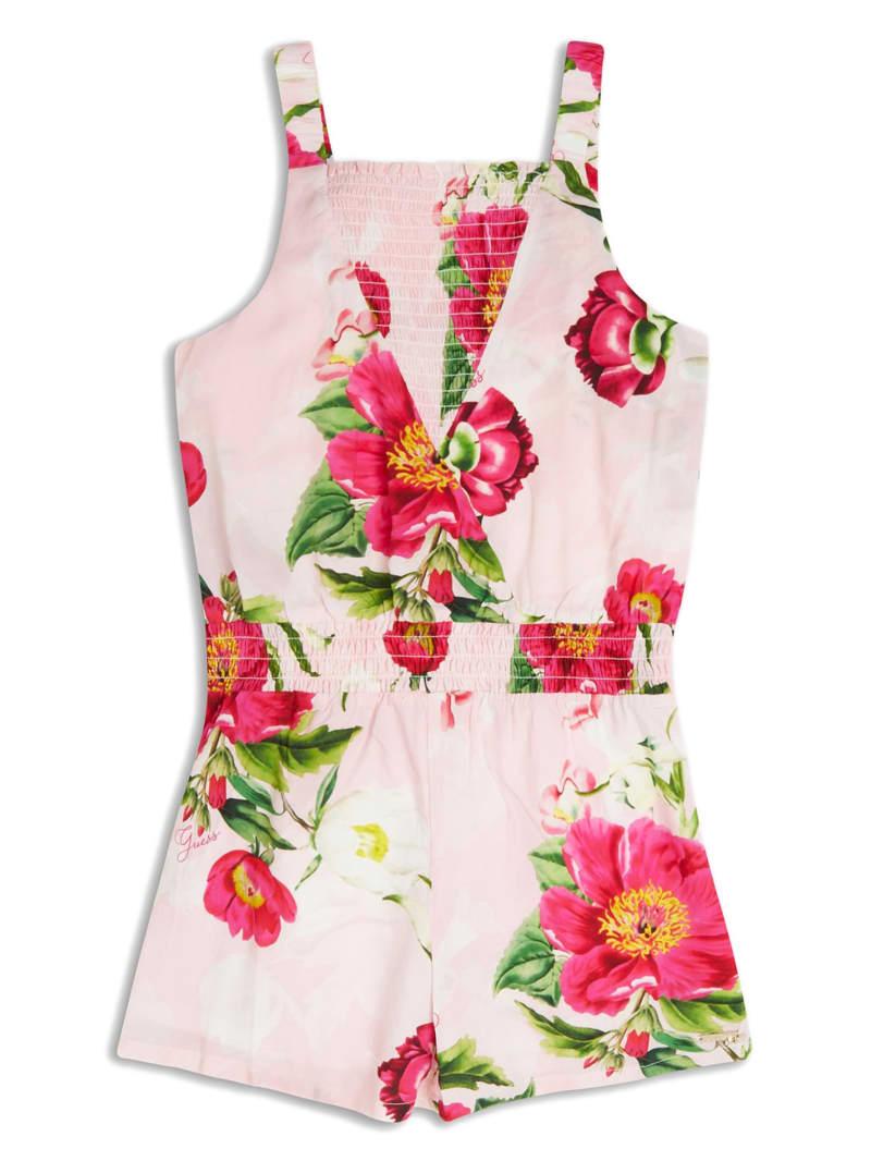 Floral Smocked Romper (7-14)