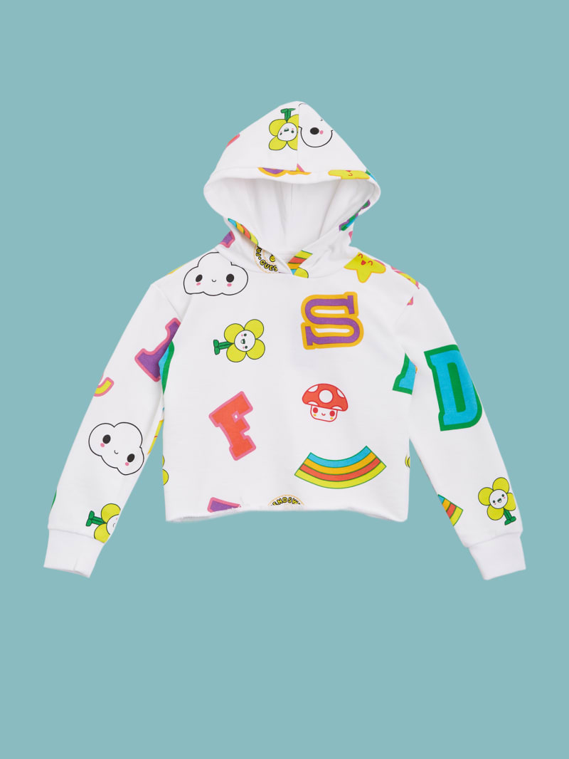 GUESS x FriendsWithYou Graphic Hoodie (4-14)