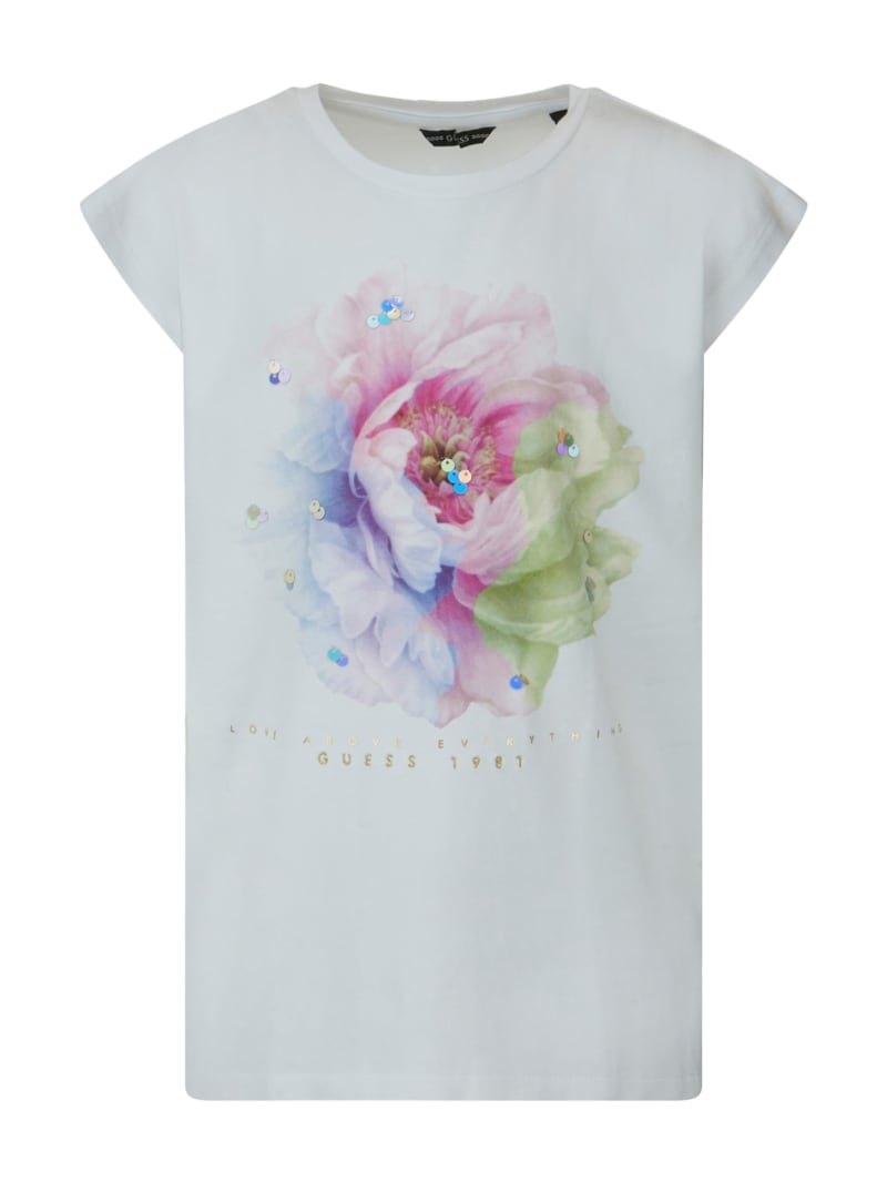 Floral Lace Tee (7-14)