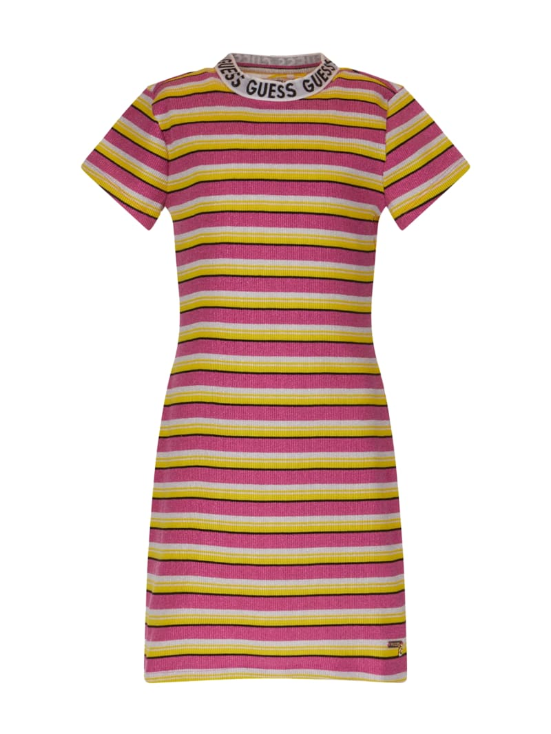 Striped Knit Dress (7-12)