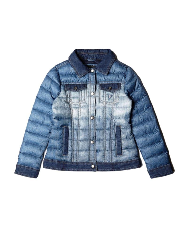 Denim Puffer Jacket (7-14)