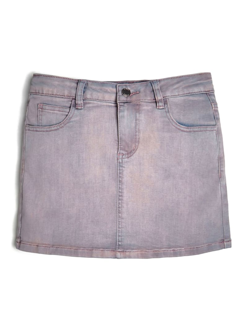Stretch Denim Mini Skirt (7-14)
