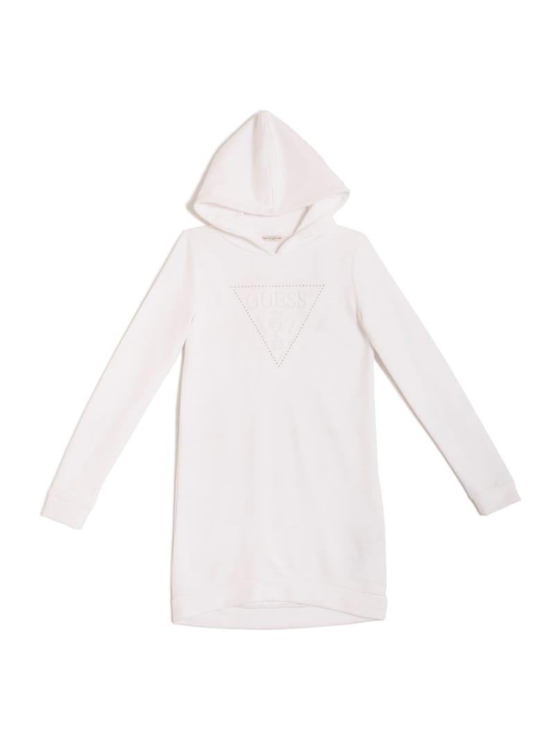 Embossed Logo Sweatshirt Dress (7-14)