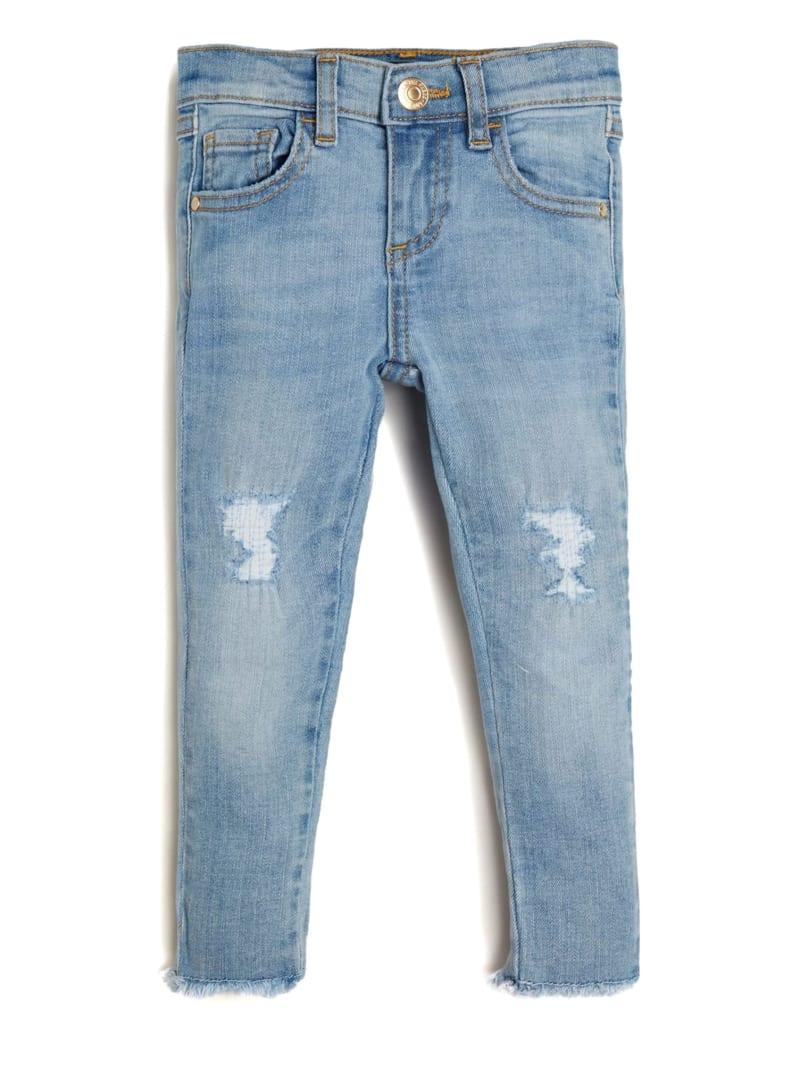 Distressed Skinny Denim Pants (2-7)