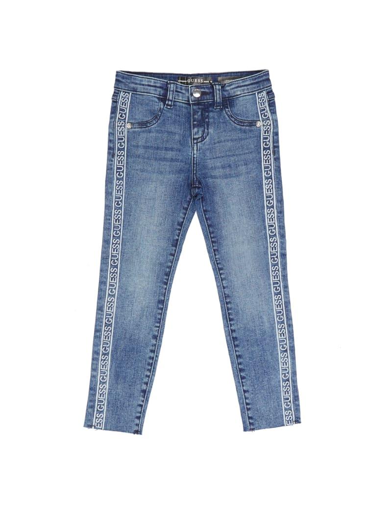 Logo-Tape Skinny Jeans (2-7)