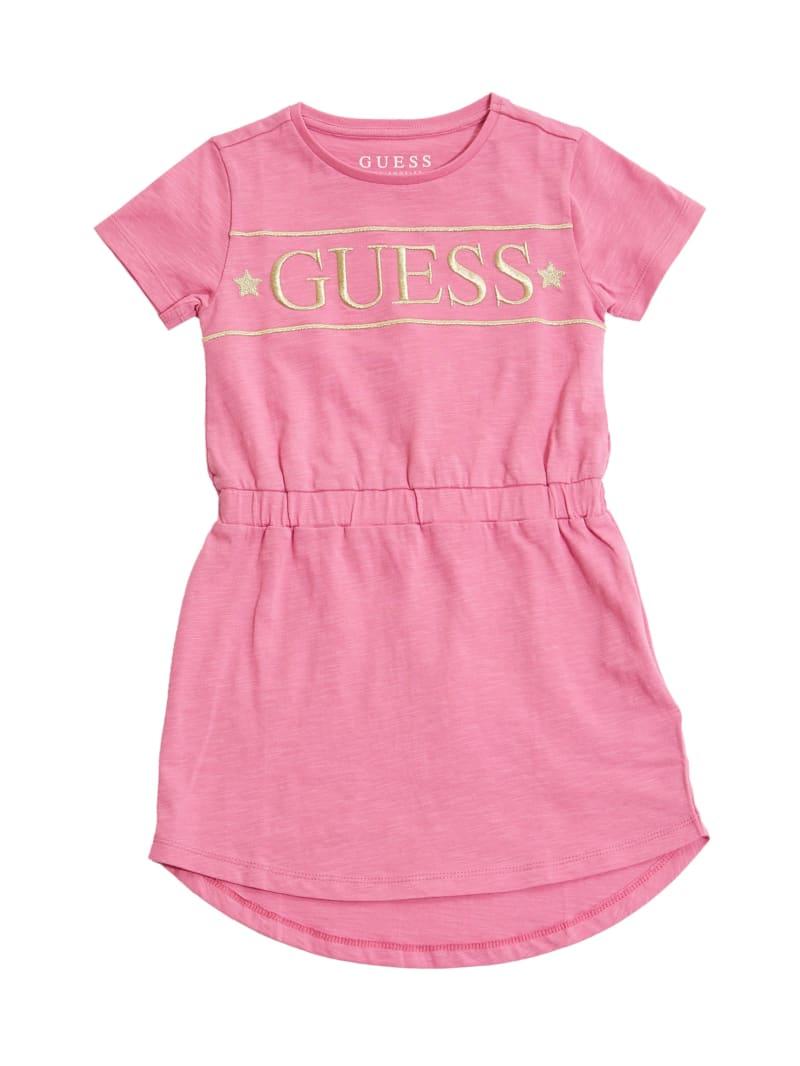 Short-Sleeve Jersey Dress (2-7)