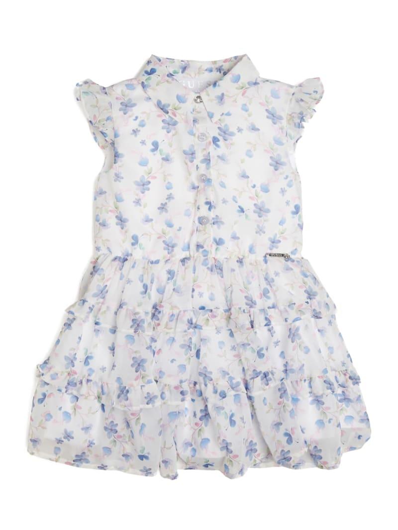 Floral Ruffled Shirtdress (2-7)