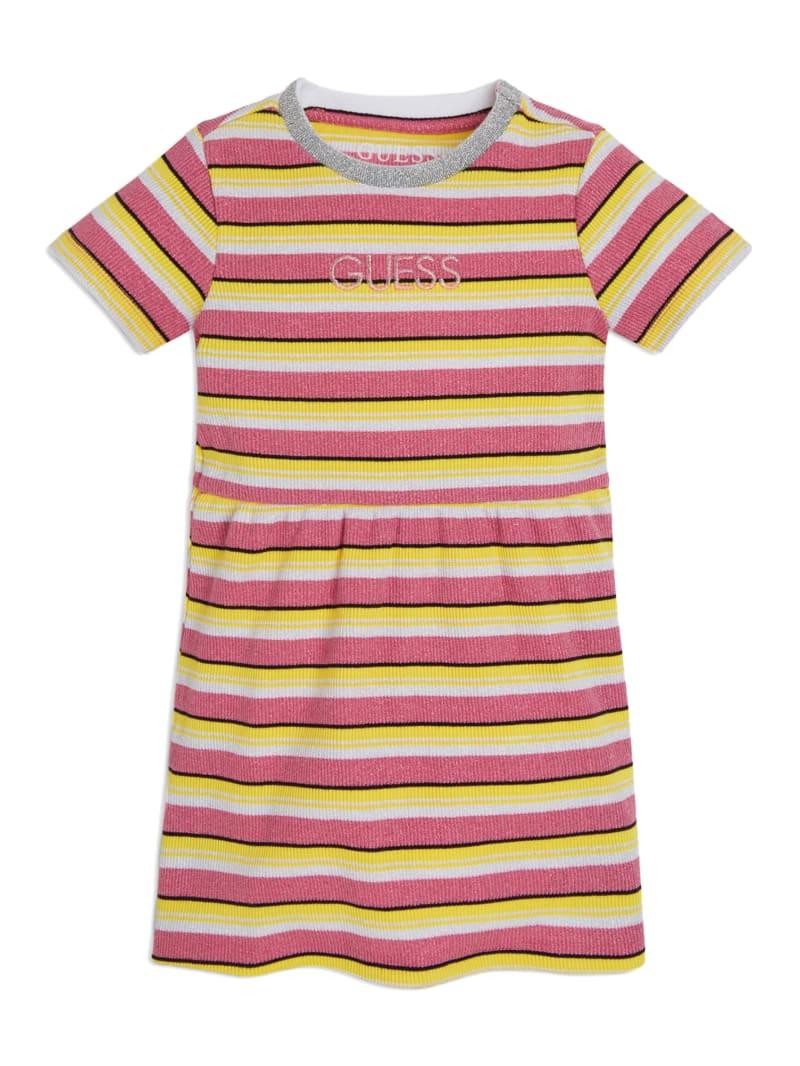 Shimmering Striped Dress (2-7)