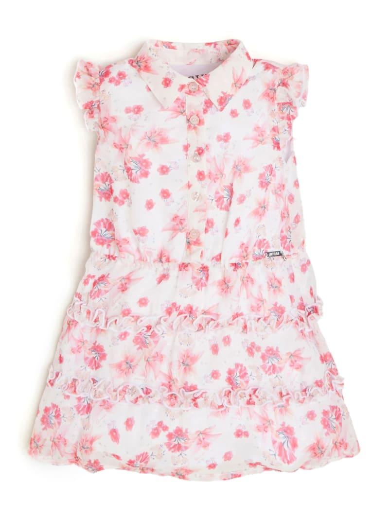 Printed Chiffon Dress (2-7)