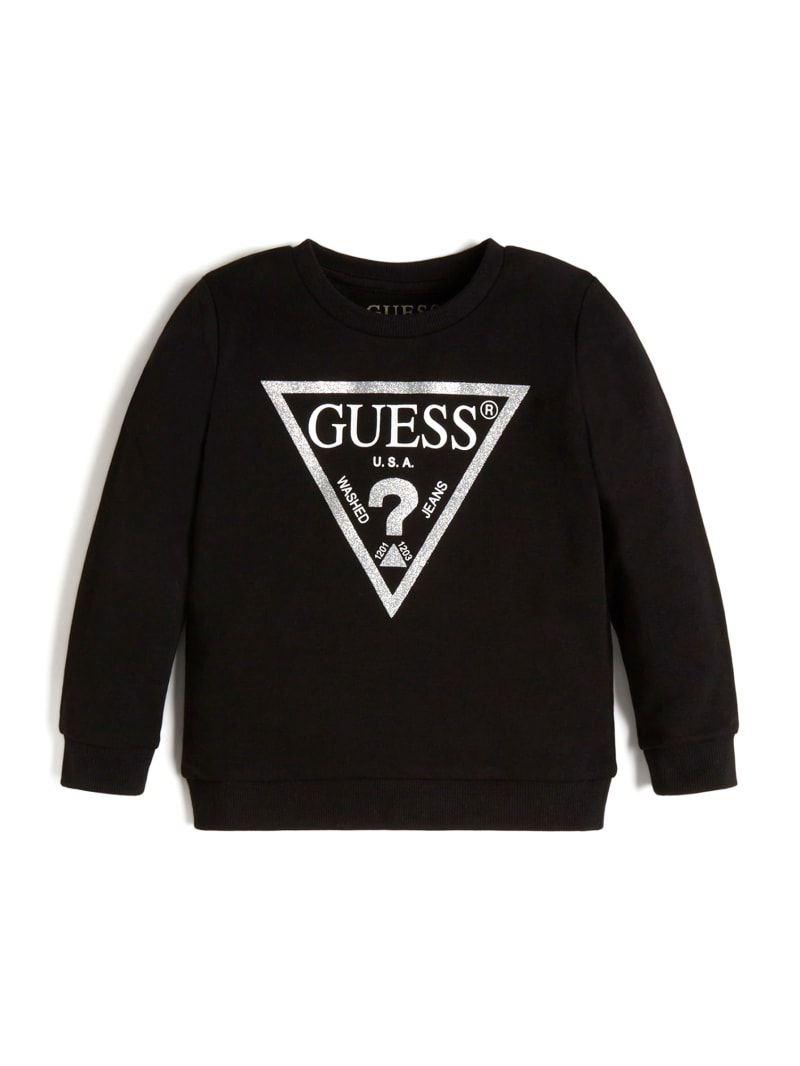 GUESS KIDS T-Shirt LS High Low T-Shirt ML Girl Pink J0YI28//K6YW0