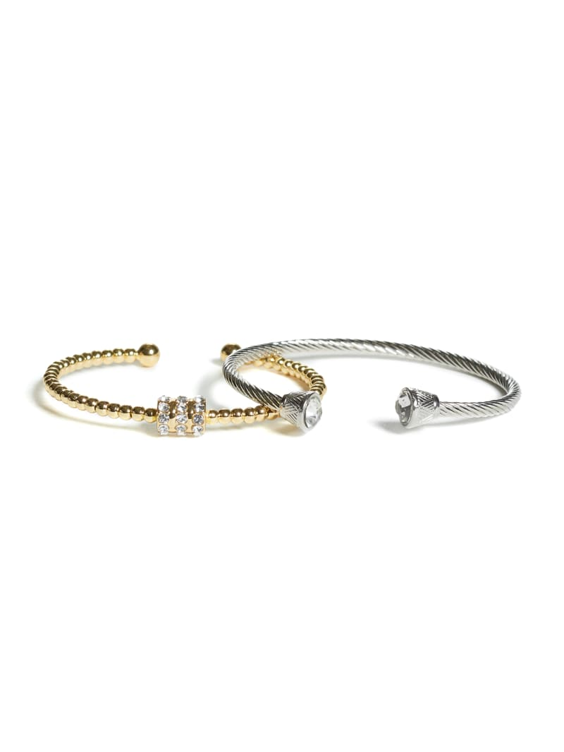 Twisted Cuff Bracelet Set