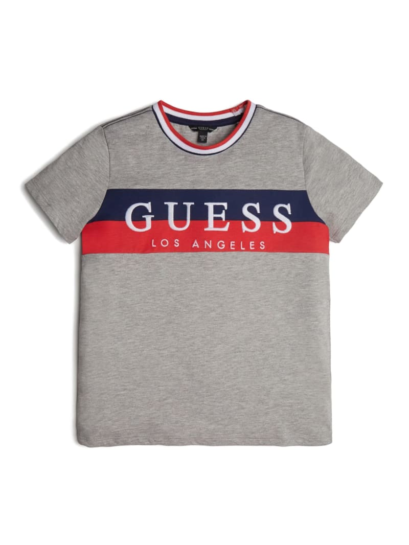 Striped Logo Graphic Tee (7-14)