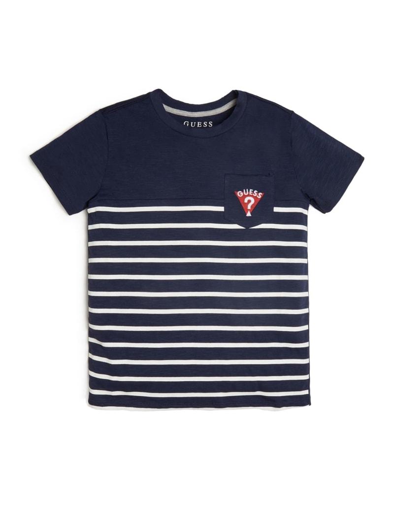 Striped Short-Sleeve Logo Tee (7-14)