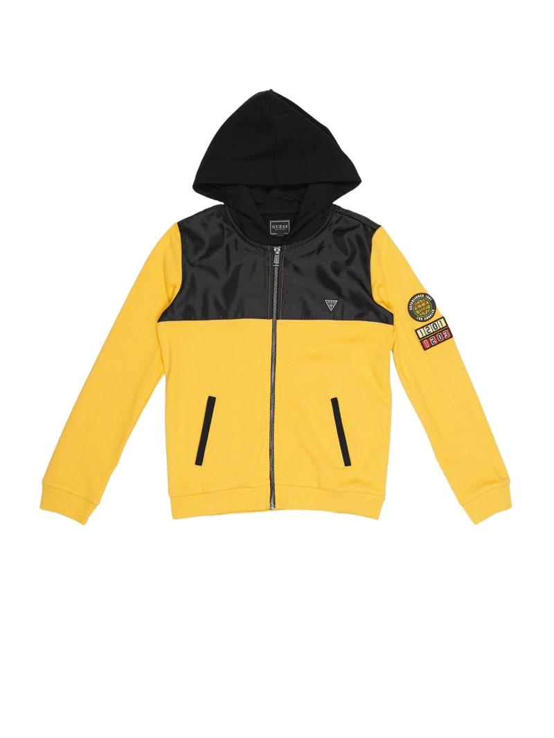 Active Zip-Up Patch Sweatshirt (7-14)