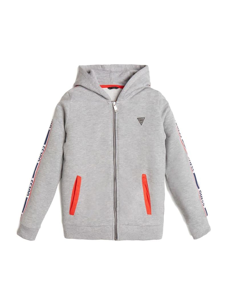 Zip-Front Hooded Jacket (7-14)