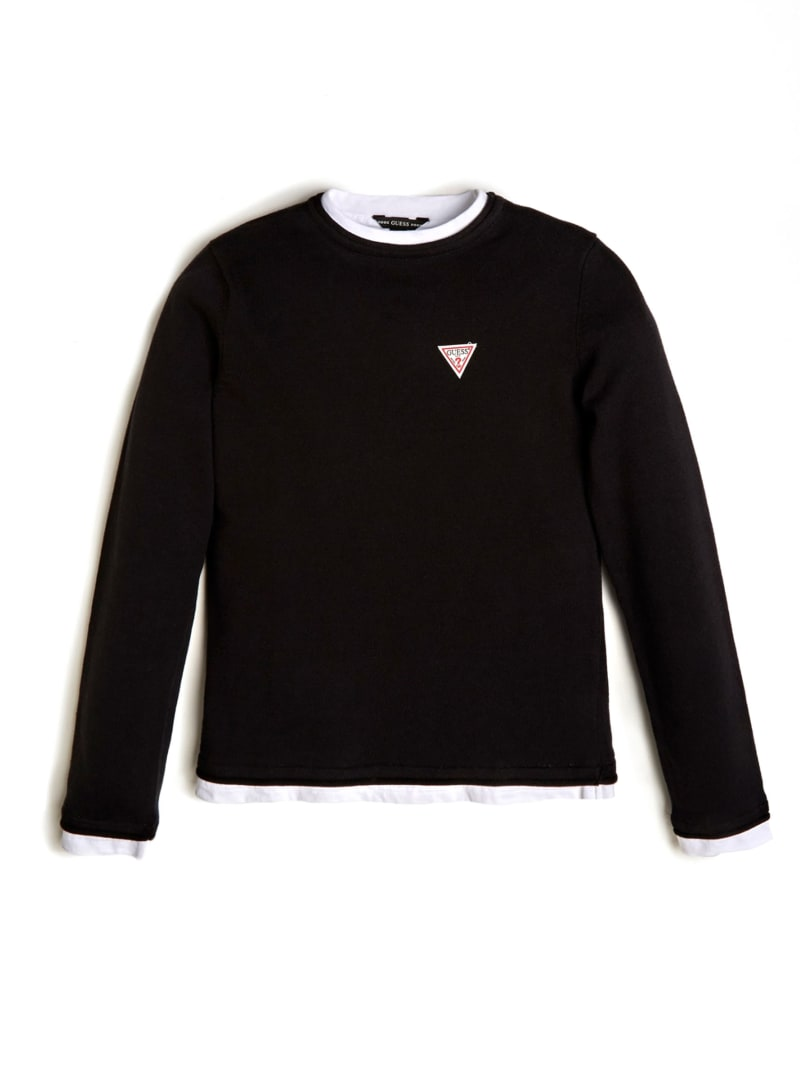 Triangle Patch Logo Sweater (7-14)