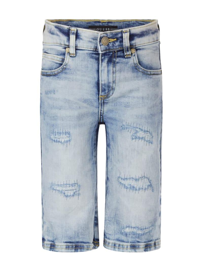 Distressed Denim Shorts (7-14)