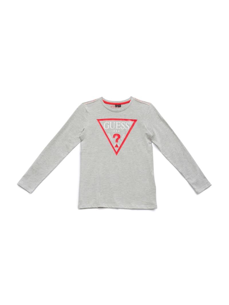 GUESS Kids Long-Sleeve Logo Tee (7-14)