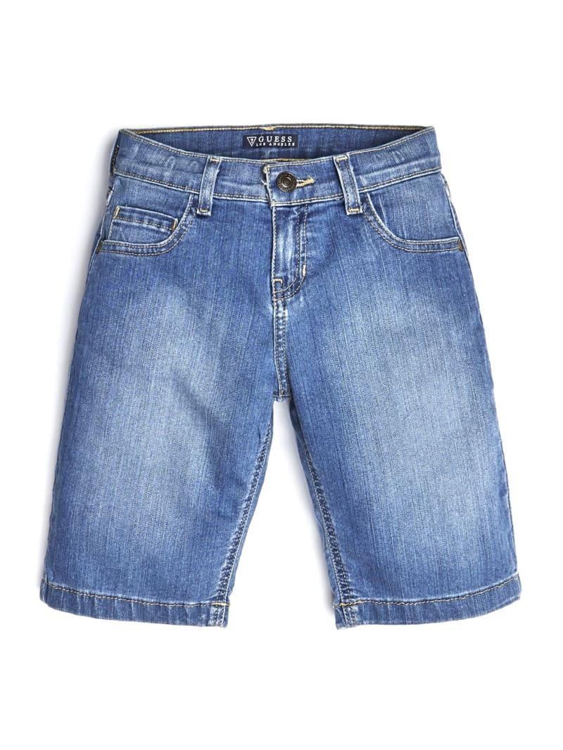 GUESS Kids Stretch Denim Shorts (7-14)