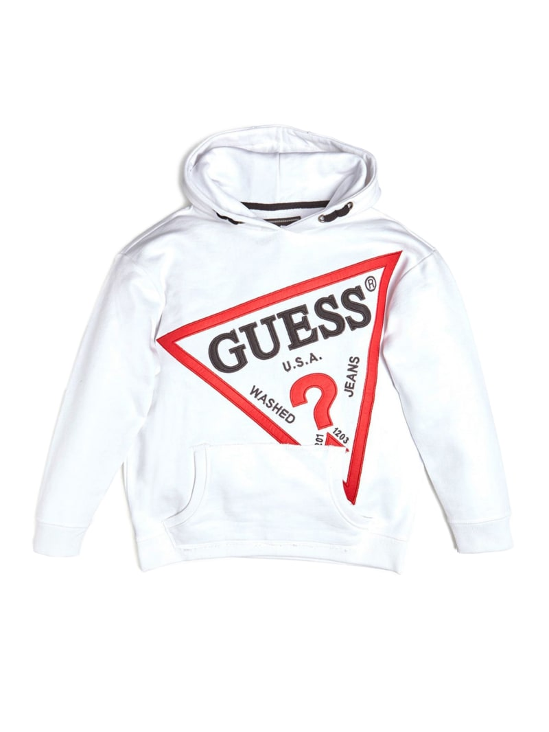 Oversized Logo Pullover Hoodie (7-14)