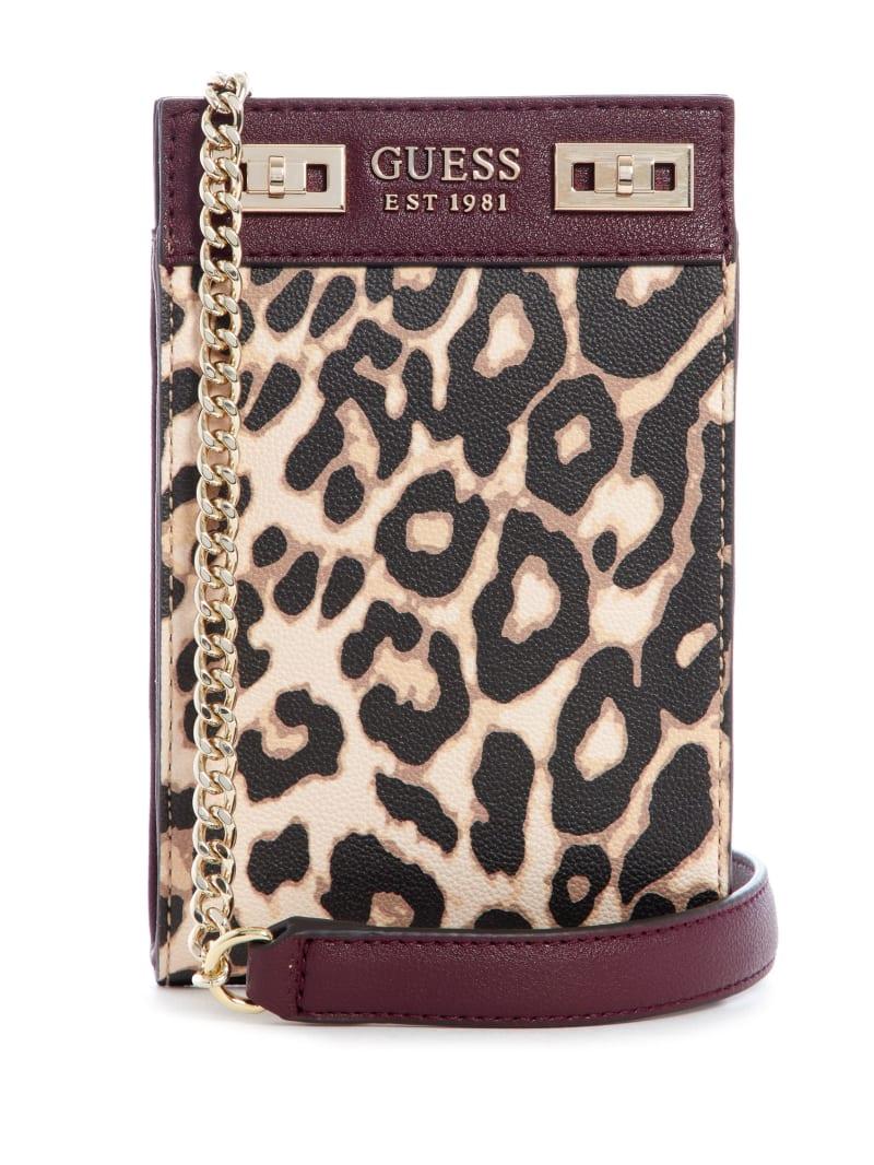 Katey Leopard Chit Chat Phone Crossbody