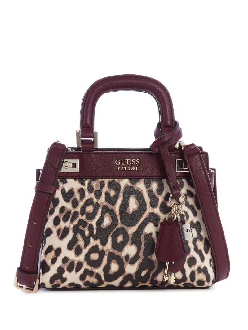 Katey Leopard Mini Satchel
