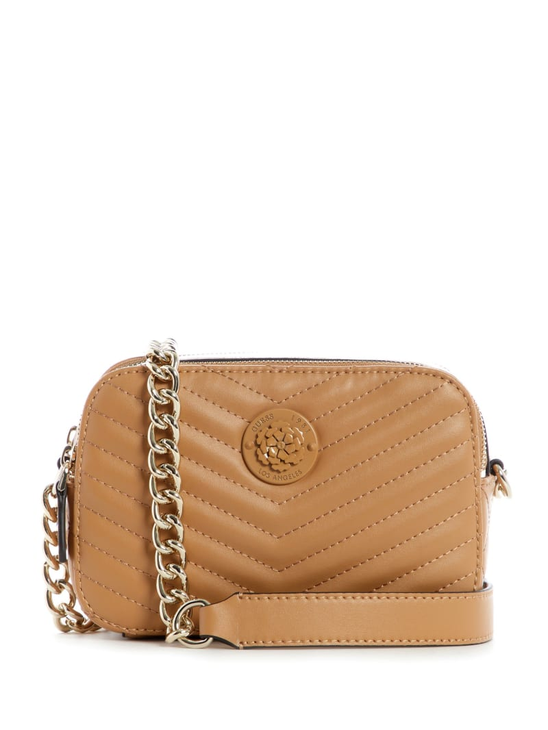 Noelle Quilted Camera Crossbody