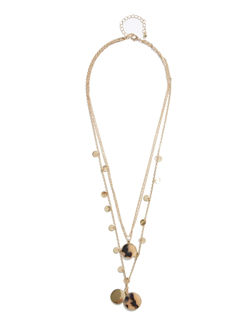 Tortoise Chain Layered Necklace