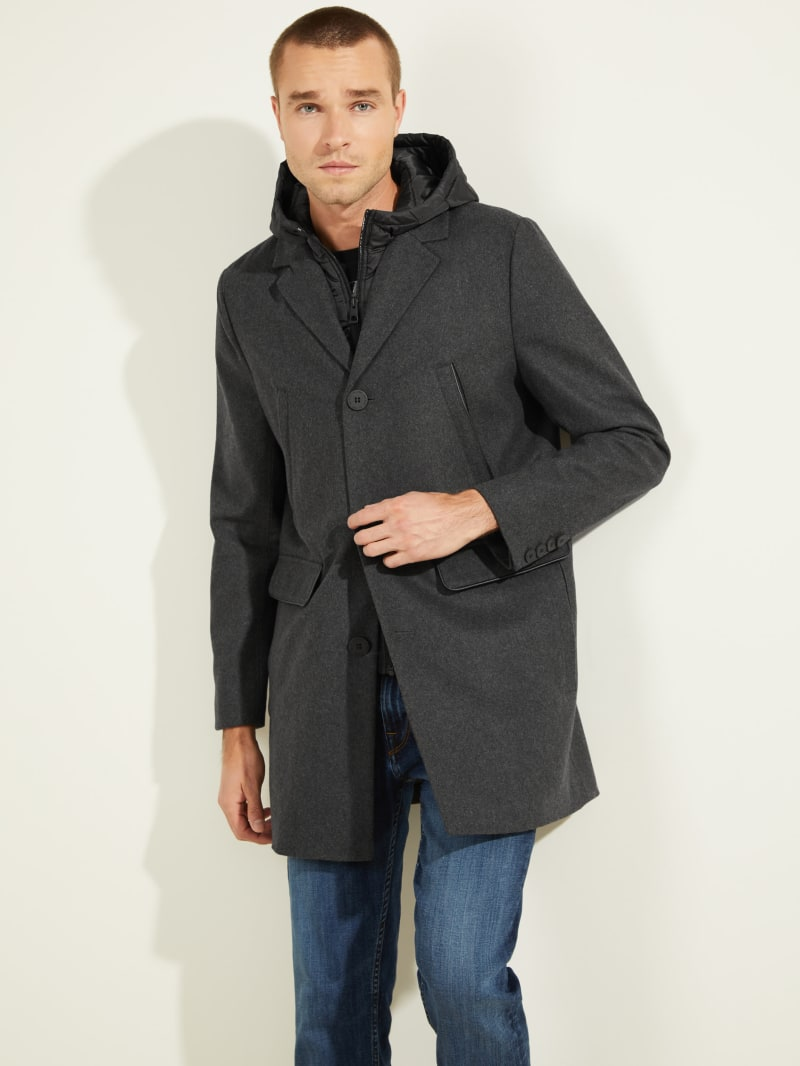 Brandon Wool-Blend Coat