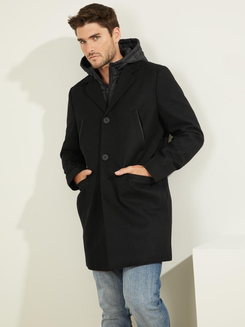 Brandon Wool-Blend Coat