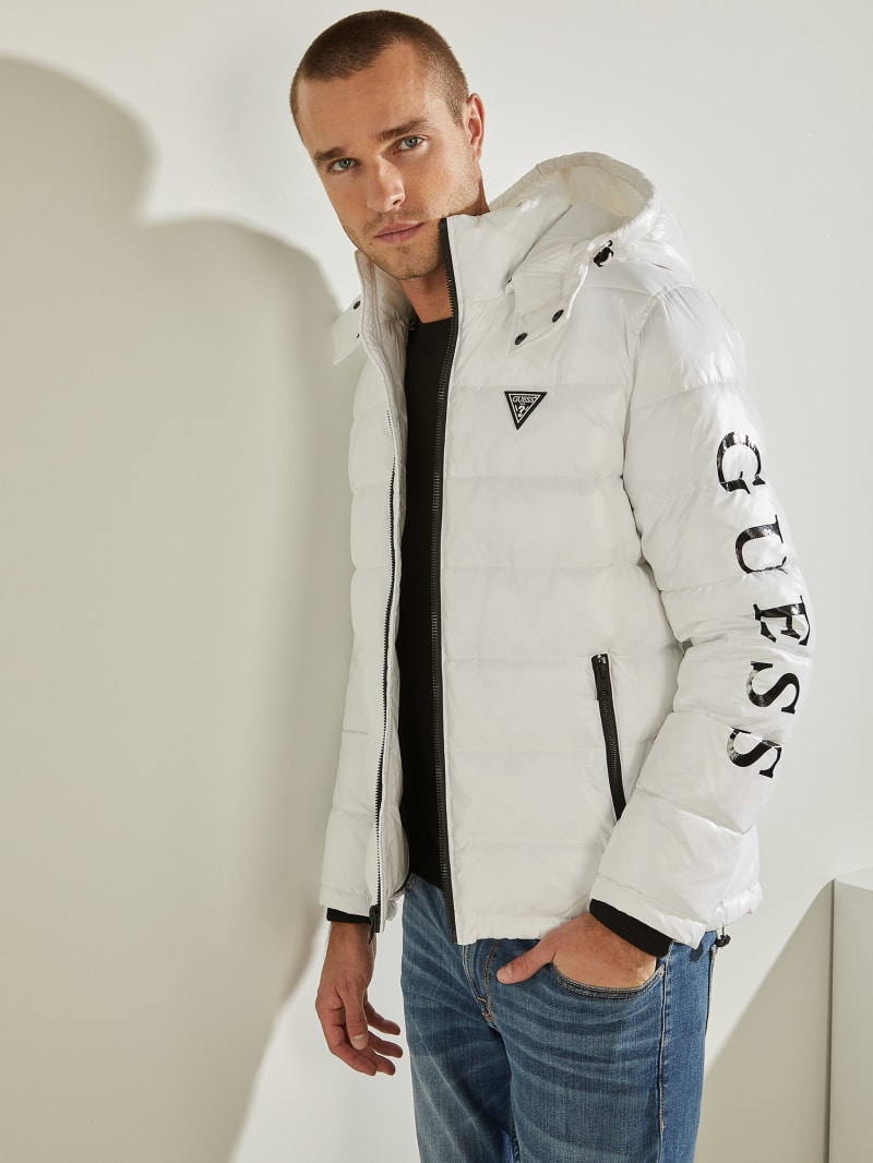 Anthony Logo Puffer Jacket